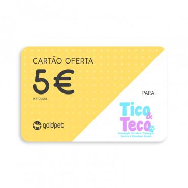 Cartão Oferta - Tico & Teco