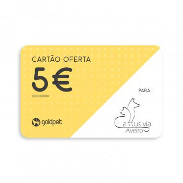 Cartão Oferta - Cattus Via Aveiro