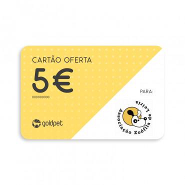 Cartão Oferta - Associação Zoófila de Leiria