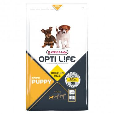 Opti Life Cão Puppy Mini - Frango e arroz