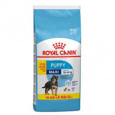 Royal Canin - Maxi Puppy 15Kg + 3Kg OFERTA