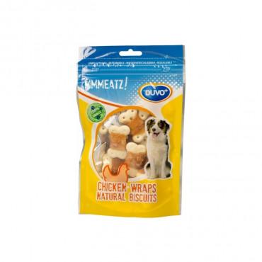 Duvo+ Wraps naturais de frango para cão