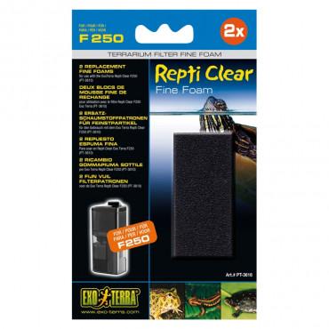 Exo Terra - Recargas de Carvão p/ Filtro Repti Clear F250/F350