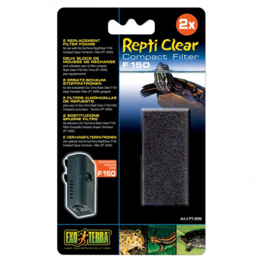 Exo Terra - Recargas Esponja Grossa p/ Filtro Repti Clear F250