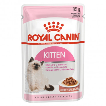 Royal Canin Húmida Gato Kitten em molho