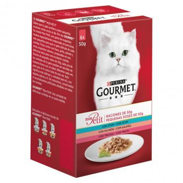 Gourmet Mon Petit Gato Seleção com Peixes