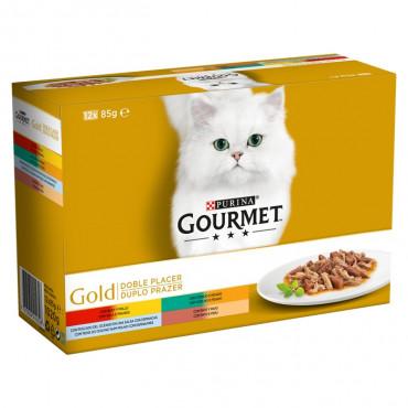 Gourmet Gold Gato Duplo Prazer