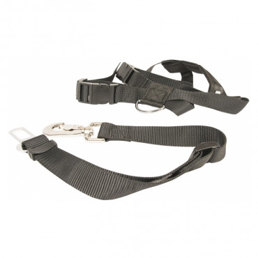 Duvo+ Peitoral e cinto de segurança para cão