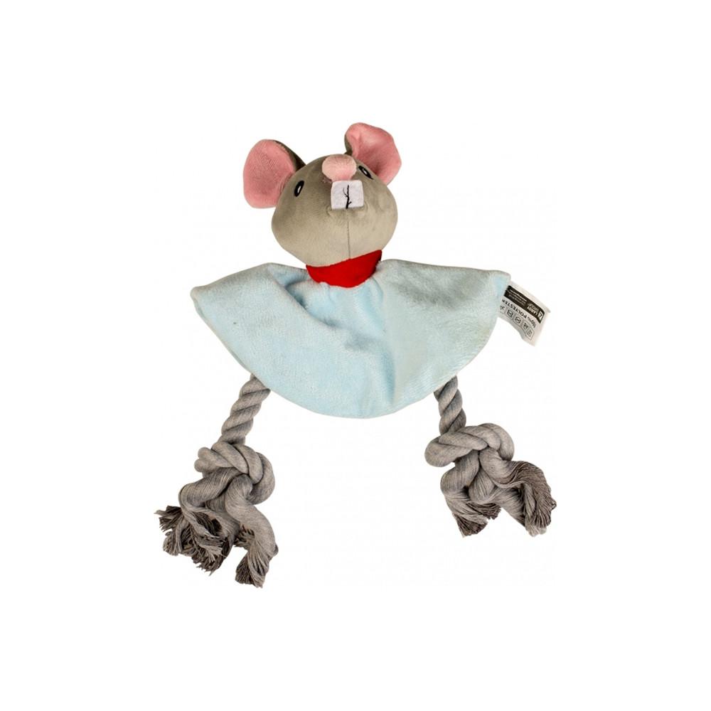 Duvo+ Rato de peluche com corda