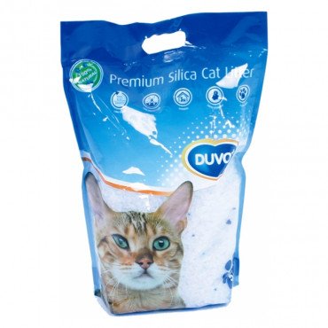 Duvo+ Areia para gato Sílica
