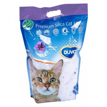 Duvo+ Areia para gato Sílica de Lavanda
