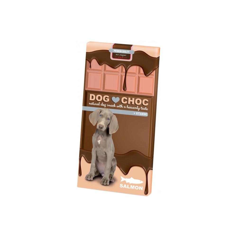Duvo+ Chocolate para cão Salmão