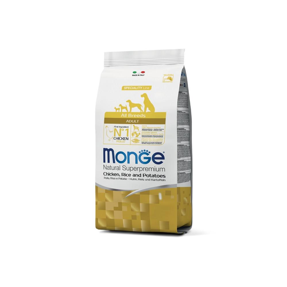 Monge Cão Adulto Frango, arroz e batata