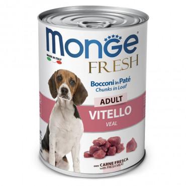 Monge Fresh Húmida Cão Adulto Vitela