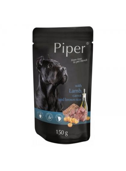 Piper Cão Borrego com cenoura e arroz Integral