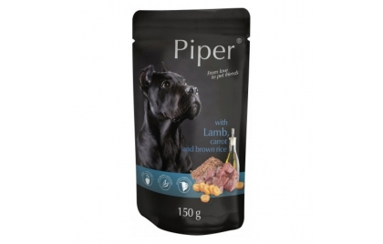 Piper Cão Adulto Borrego com cenoura e arroz Integral