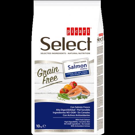 Picart Select Sem Cereais Cão Adulto - Salmão