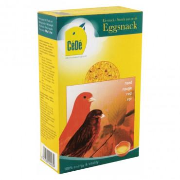 CéDé Snack de ovo vermelho para canários