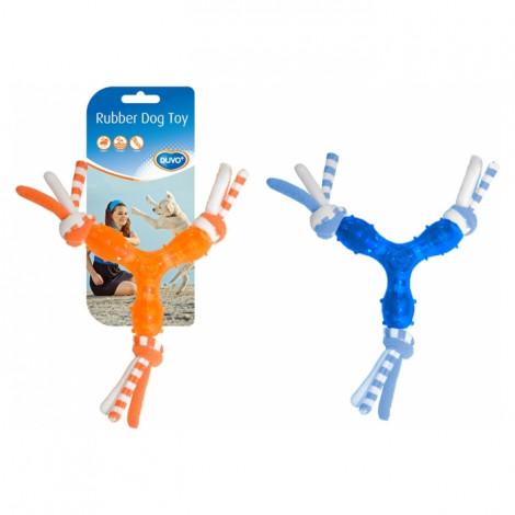 Duvo+ Brinquedo TPR com cordas para cão