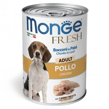Monge Fresh Húmida Cão Adulto Frango