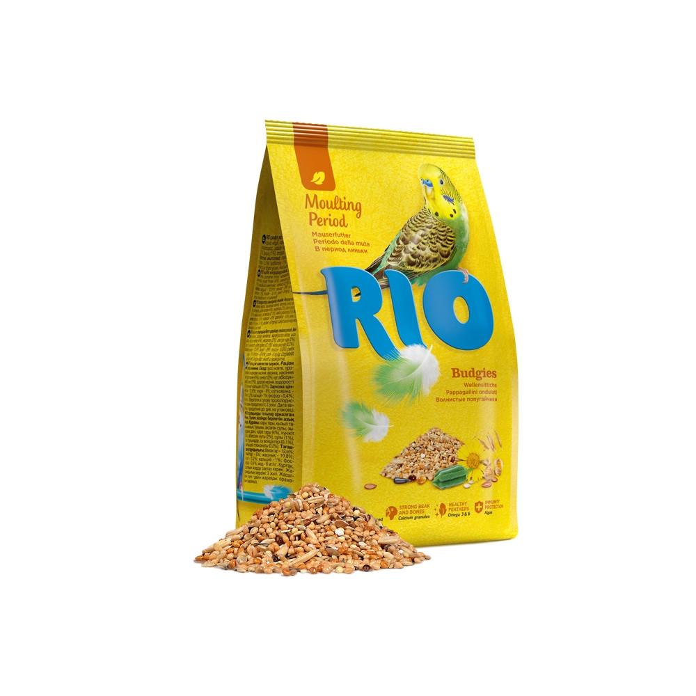 Rio - Alimento p/ Periquitos - Período de Muda 1Kg