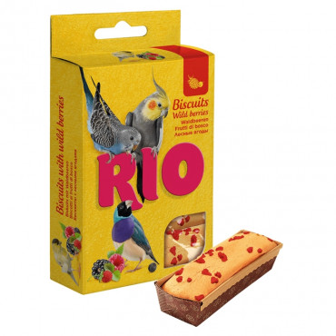 Rio - Biscuits c/ Frutos Silvestres 5 x 7gr