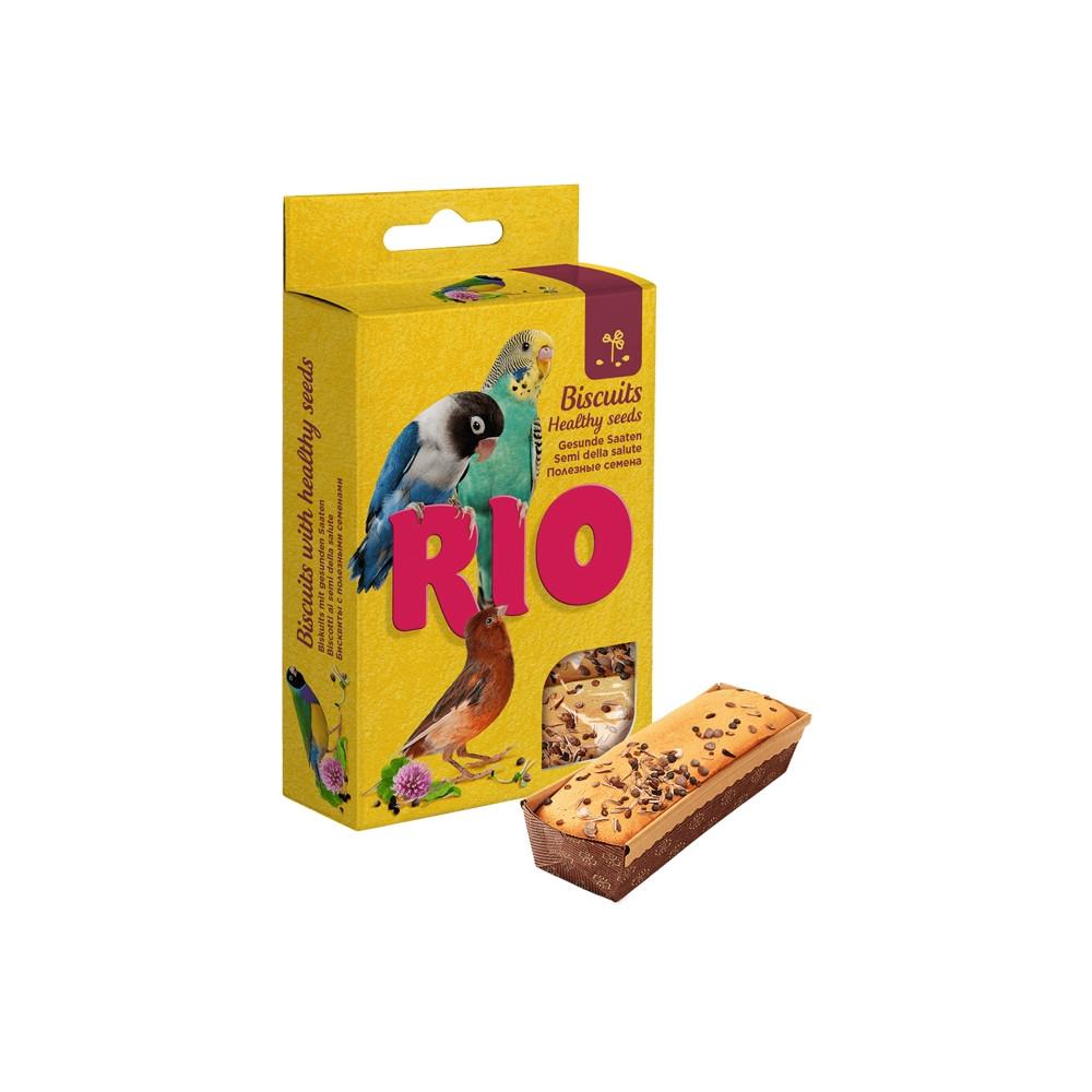 Rio - Biscuits c/ Sementes Saudáveis 5 x 7gr
