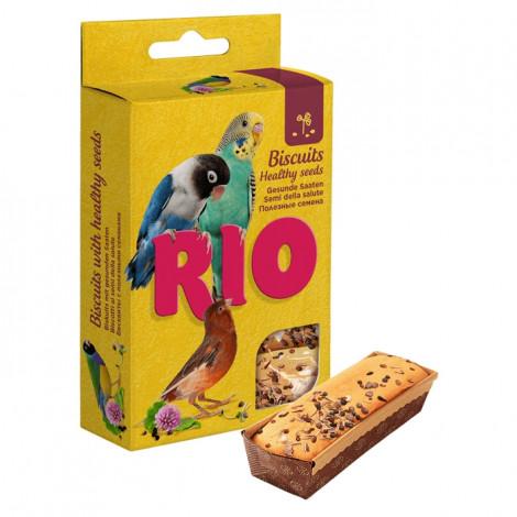 RIO Biscoitos com sementes saudáveis para aves