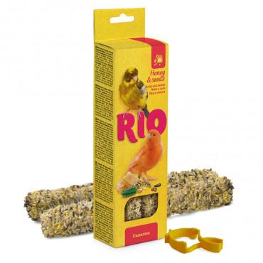 Rio - Sticks p/ Canários c/ Mel e Sementes 2x40gr