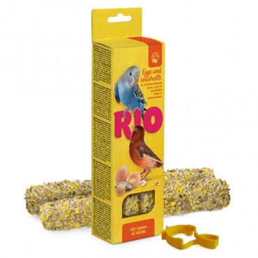 Rio - Sticks p/ Canários c/ Ovos e Conchas de Ostras 2x40gr