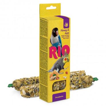 RIO Sticks mel e nozes Grandes Periquitos