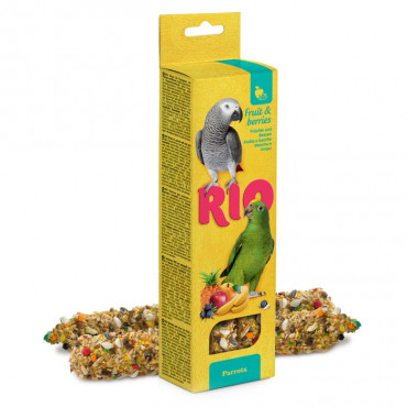 Rio - Sticks p/ Papagaios c/ Fruta e Bagas 2x75gr
