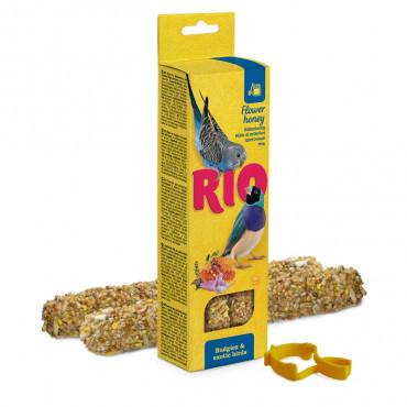 Rio - Sticks p/ Periquitos e Pássaros Exóticos c/ Mel 2x40gr