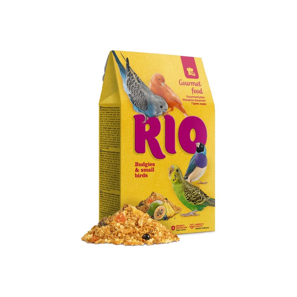 RIO Alimento gourmet Periquitos e Pequenas Aves