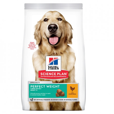 Hill's Perfect Weight Cão Large - Frango