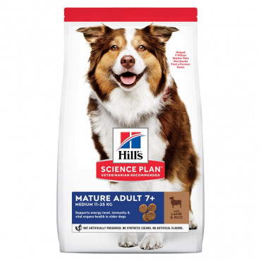 Hill's Active Longevity - Mature Adult +7 Cordeiro