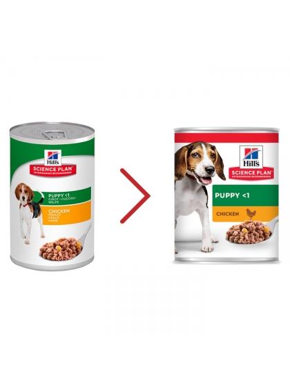Hill's Cão Puppy Frango Húmida