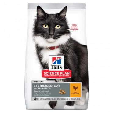 Hill's Feline - Mature +7 Sterilised Frango 1.5kg