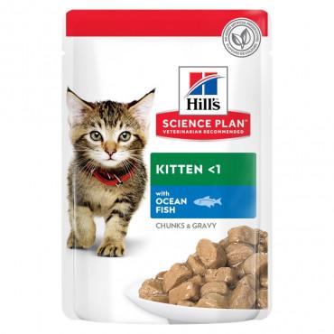 Hill's Kitten Peixe do Oceano
