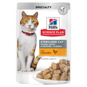 Hill's Cat Sterilised Frango 85gr