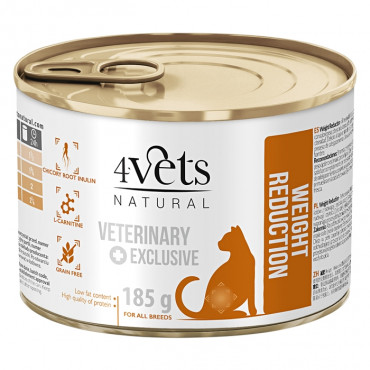 4Vets Weight Reduction Gato Adulto