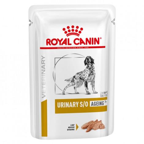 Royal Canin Urinary S/O Ageing7+ Húmida Cão Sénior