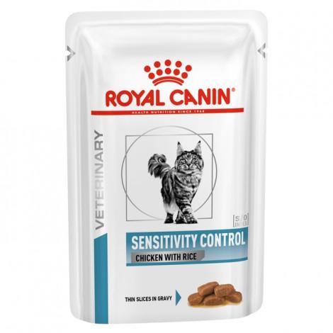 Royal Canin Sensitivity Control Húmida Gato Adulto Frango com arroz
