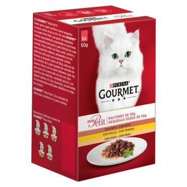 Gourmet Mon Petit Gato Seleção com Aves