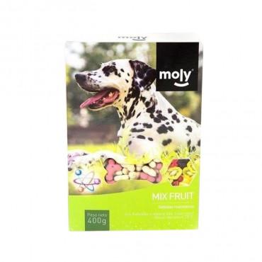 Moly Biscoitos Mix Fruit para cão