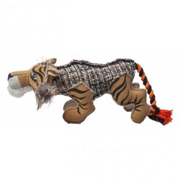 Duvo+ Tigre colorido em lona