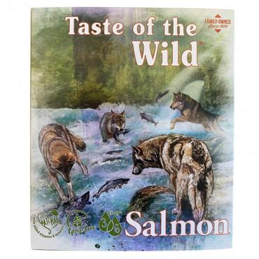 Taste of the Wild Húmido Cão - Salmão e arenque