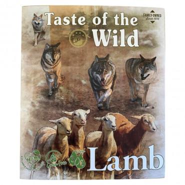 Taste of the Wild Cordeiro e frango Cão Adulto Húmida