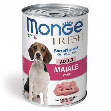 Monge Fresh Cão Adulto Porco em patê