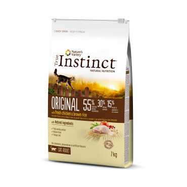 True Instinct Original Gato Adulto Chicken